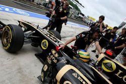 Bruno Senna, Renault F1 Team piloto de prueba