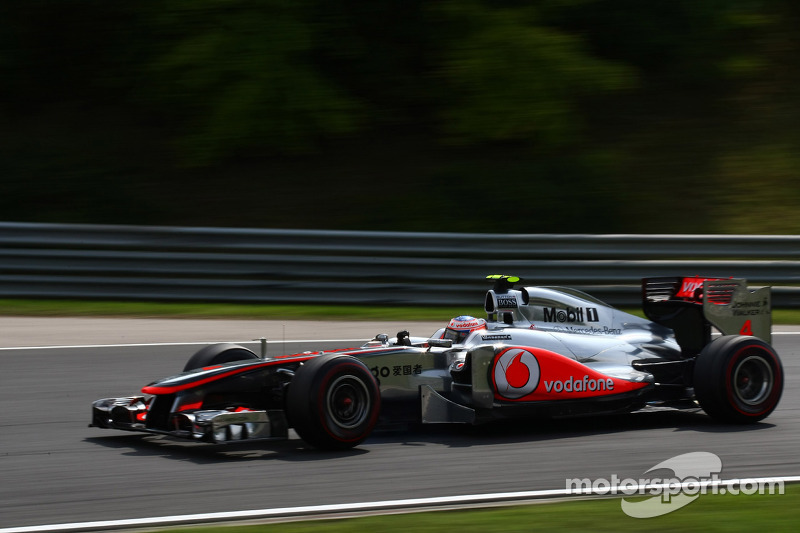 2011 : Jenson Button, McLaren-Mercedes MP4-26