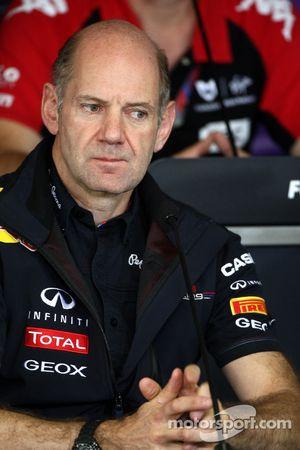 Adrian Newey, Red Bull Racing, técnico Director de las operaciones