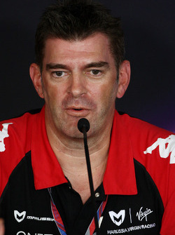 Graeme Lowden, Virgin Racing Direktör, racing