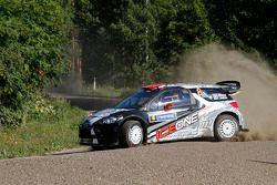 Кими Райкконен и Кай Линдстрём, Citroën DS3 WRC, ICE 1 Racing