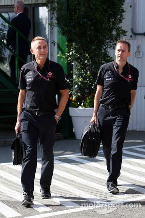 Martin Whitmarsh, McLaren, Director Ejecutivo, Jonathan Neale, McLaren