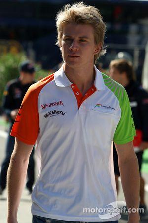 Nico Hulkenberg, Force India F1 Team, pilote d'essai