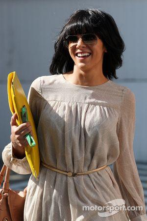 Raquel Rosario, wife of Fernando Alonso