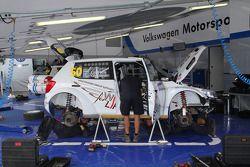 Расположение команды Volkswagen Motorsport