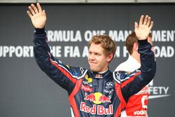 Pole Sebastian Vettel, Red Bull Racing
