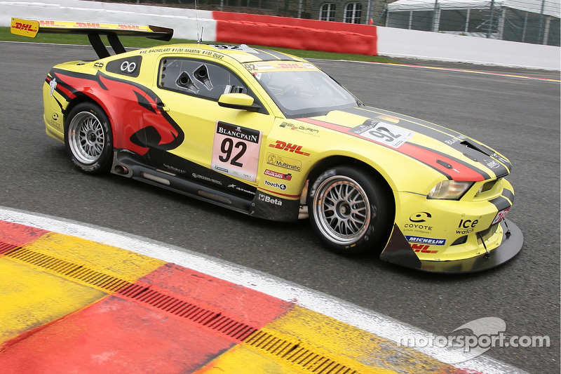 92 Marc VDS Racing Team Ford Mustang FR500: Marc Duez, Jean