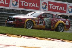 Eau Rouge, #85 VDS Racing Adventures Ford Mustang FR500: Benjamin Bailly, Julien Schroyen, José Clos
