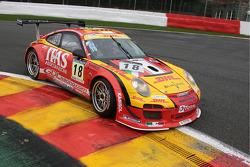 #18 De Lorenzi Racing Porsche 997 GT3 R: Gianluca De Lorenzi, Alessandro Bonetti, Beniamino Caccia, Lorenzo Bontempelli