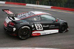 #33 Audi Sport Team WRT, Audi R8 LMS: Mattias Ekström, Gregory Franchi, Timo Scheider