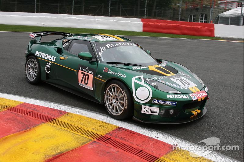 #70 Lotus Sport Italia Lotus Evora GT4: Edoardo Piscopo, Leo Manselll, Greg Manselll, Gianni Giudici