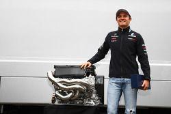 Nico Rosberg, Mercedes GP F1 Team celebra su carrera número 100