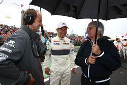 Kamui Kobayashi, Sauber F1 Team en Bernie Ecclestone