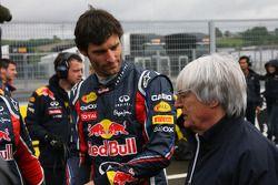 Mark Webber, Red Bull Racing and Bernie Ecclestone