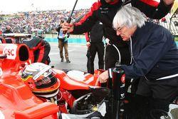 Jerome d'Ambrosio, Virgin Racing and Bernie Ecclestone