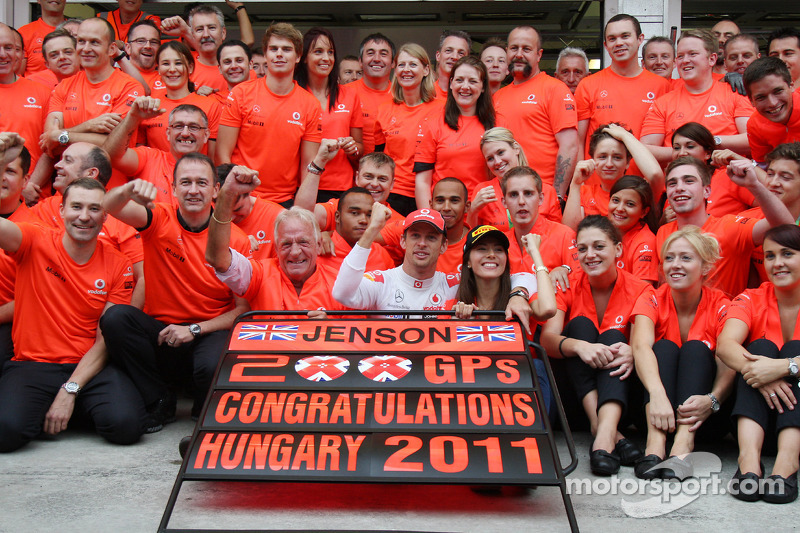 Jenson Button - 306 Grands Prix