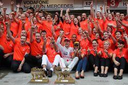 John Button Father of Jenson, Nicholas Hamilton, Brother of Lewis Hamilton, McLaren Mercedes, Lewis