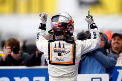 Stefano Coletti celebrates his victory