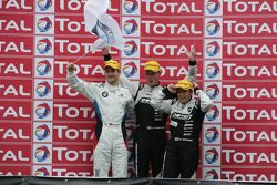 Podium: second place Need For Speed Team Schubert BMW Z4 GT3: Dirk Werner, Edward Sandström, Claudia Hürtgen