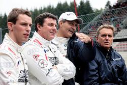 Matthew Bell, Mark Blundell, Mark Patterson, Eddie cheever