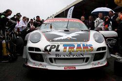 #75 Prospeed Competition Porsche 997 GT3 R: Marc Goossens, Jan Heylen, Maxime Soulet