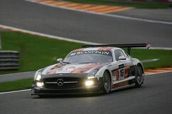 KRK Racing Team Holland Mercedes SLS AMG: Raf Vanthoor, Marius Ritkes, Bernhard van Oranje, Dennis R