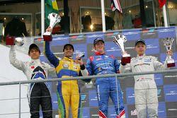 International class winner William Buller, second place Felipe Nasr, third place Kevin Magnussen, rookie Kotaro Sakurai