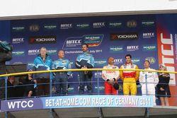Yvan Muller, Chevrolet Cruz 1.6T, Chevrolet winnaar, Robert Huff, Chevrolet Cruze 1.6T, Chevrolet 2d