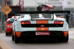 #45 Gulf Team First Lamborghini Gallardo LP600: Fabien Giroix, Fréderic Fatien, Andrea Barlesi, Karim Al Azhari