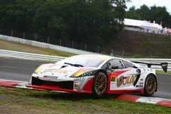 #88 Jloc Lamborghini RG-3: Hiroyuki Iiri, Yuhi Sekiguchi