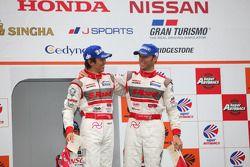 Podium GT500 winnaar: S Road Mola GT-R: Masataka Yanagida, Ronnie Quintarelli