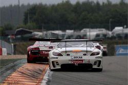 #55 Graff Racing Mercedes SLS AMG: Mike Parisy, Gilles Vannelet, Philippe Haezebrouck, Massimo Vigna