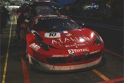 #10 SOFREV Auto Sport Promotion Ferrari 458 Italia: Olivier Pla, Julien Jousse, Patrice Goueslard
