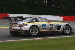 #38 Black Falcon Mercedes SLS AMG: Andrii Lebed, Bret Curtis, Peter Van der Kolk, Jeroen van den Heu
