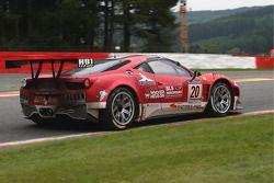 #20 SOFREV Auto Sport Promotion Ferrari 458 Italia: Ludovic Badey, Franck Morel, Guillaume Moreau, Jean-Luc Beaubelique