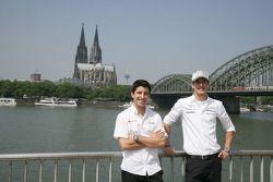 Mike Rockenfeller, Audi Sport Team Abt Audi A4 DTM en Christian Vietoris Persson Motorsport, AMG Mer