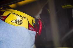 Le casque de Kurt Busch (Penske Racing Dodge)