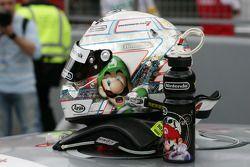 Helm von Timo Scheider, Audi Sport Team Abt