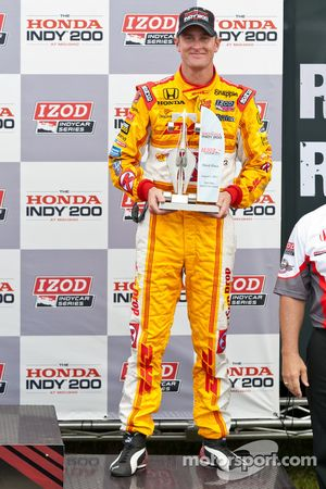 Third place Ryan Hunter-Reay