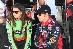 Danica Patrick, Andretti Autosport et Marco Andretti, Andretti Autosport
