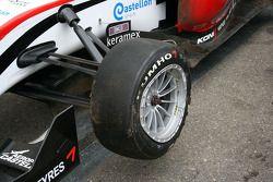 Roberto Merhi's wagen