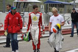 Roberto Moreno, Lucas Foresti en Felix Rosenqvist