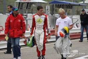 Roberto Moreno, Lucas Foresti and Felix Rosenqvist