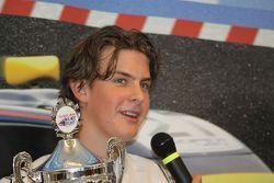 Pim Speelman Winner of the Red Bull Kart Fight Over 15 Title