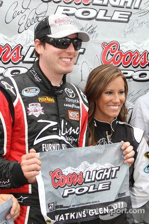 Pole winner Kyle Busch