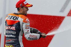 Подиум: второе место - Андреа Довициозо, Repsol Honda Team