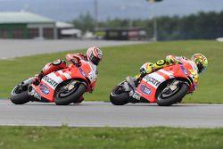 Valentino Rossi, Ducati Team, Nicky Hayden, Ducati Team