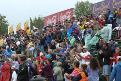 Fans ready for the race
