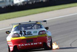 #43 Team Sahlen Mazda RX-8: Joe Nonnamaker, Will Nonnamaker, Wayne Nonamaker