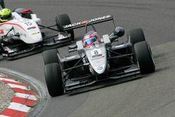3de Kevin Magnussen, Carlin, Dallara F308 Volkswagen, Nigel Melker, Mucke Motorsport, Dallara F308 M